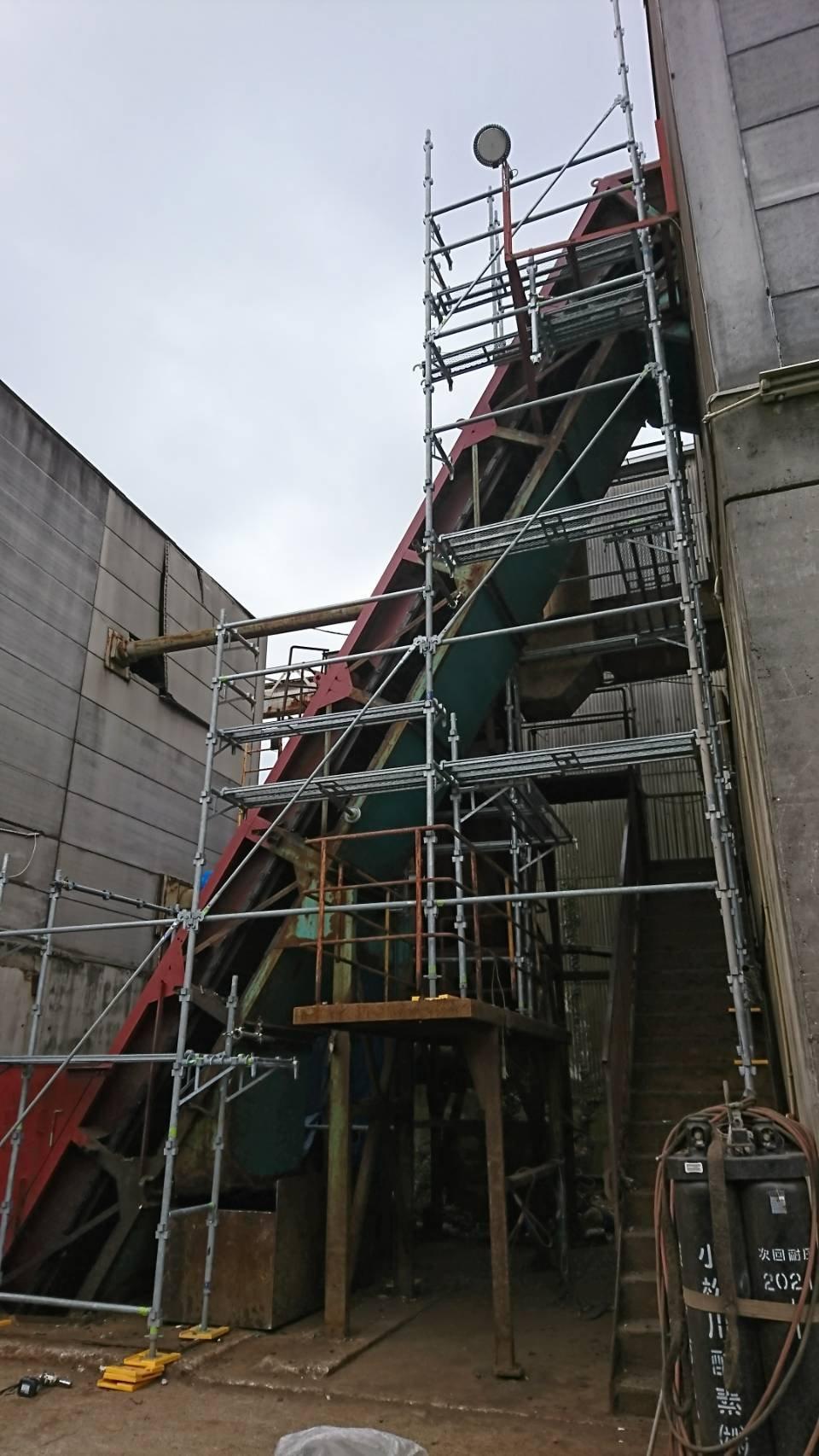 野崎工業 足場工事 施工事例