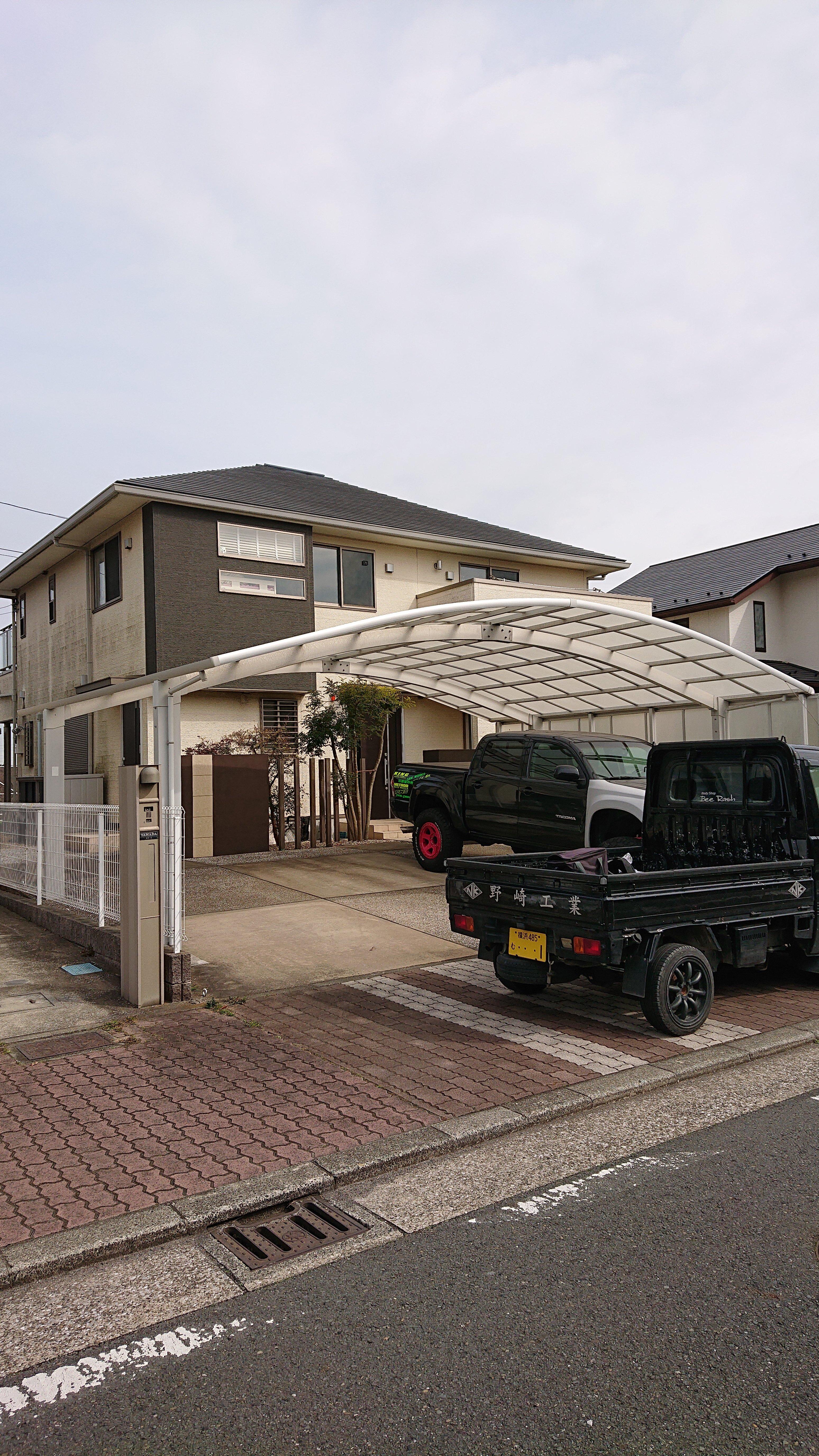 横須賀市 改修足場工事 施工事例