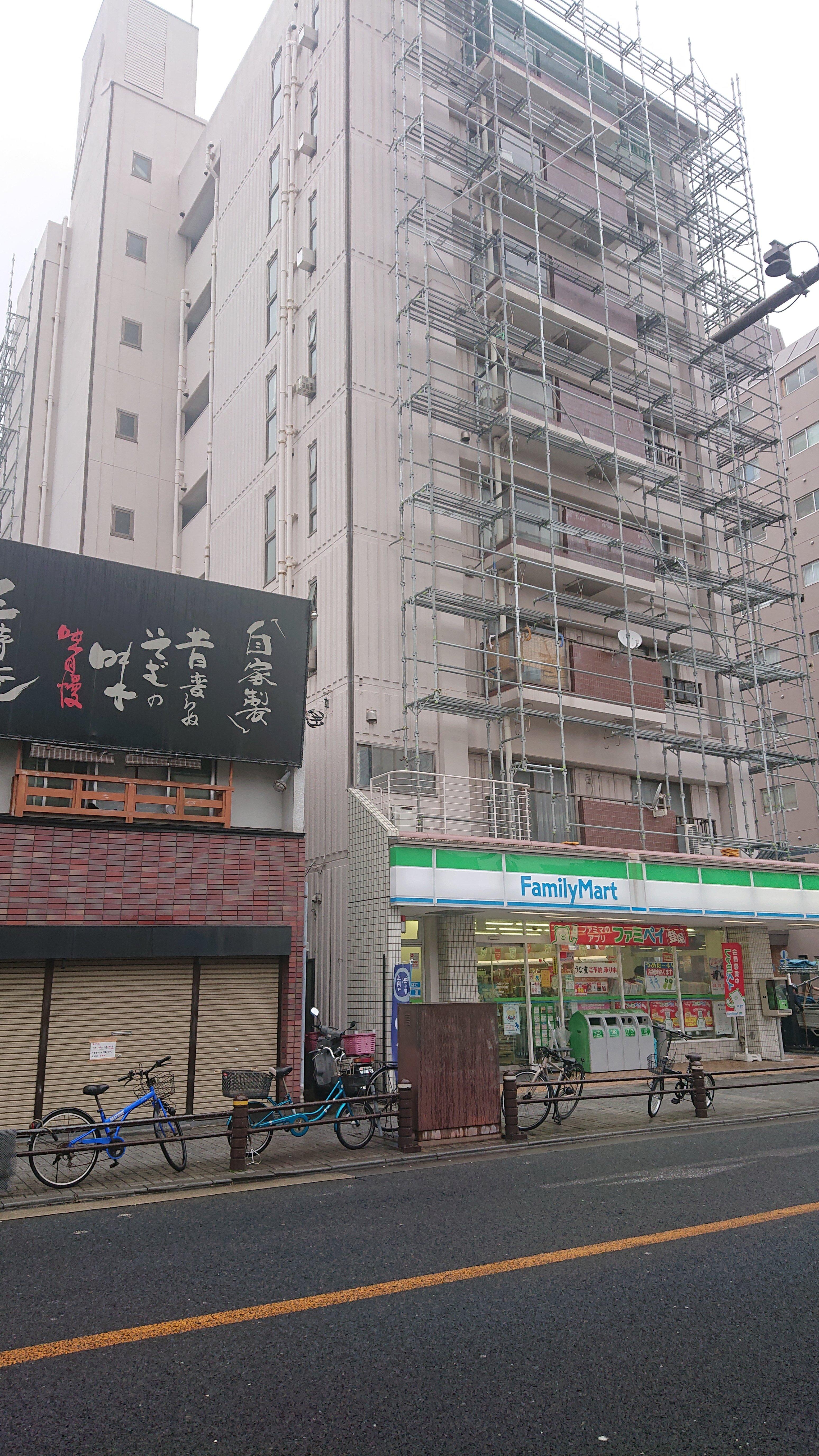 横須賀市米が浜 大規模修繕工事 施工事例